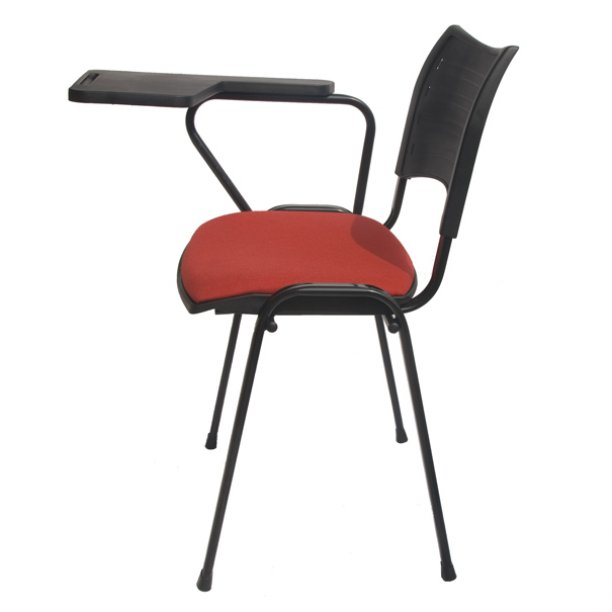 Silla universitaria spring asiento tapizado sillas for Sillas universitarias